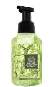 WINTER CITRUS WREATH BATH & BODY WORKS GENTLE FOAMING HAND SOAP