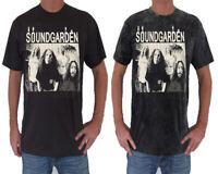 Unisex Soundgarden T-Shirt Short Sleeve Rock Mens Womens Ladies