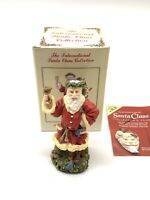 International Santa Claus Collection Father Christmas Ornament England with Box