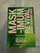 Naturally Serious Mask-Imum Revival Hydra-Plumping Mask - 3.4 Oz. - Made In Usa
