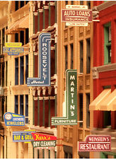 City Classics-HO Scale -- #850 Storefront Signs - NIB
