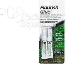 Flourish Glue Freshwater Aquarium Moss/Plant Adhesive Seachem 2 Pack 4g each