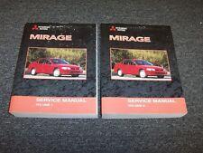 2001 Mitsubishi Mirage Shop Service Repair Manual Book Set DE ES LS 1.5L 1.8L