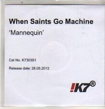(DE35) When Saints Go Machine, Mannequin - 2012 DJ CD
