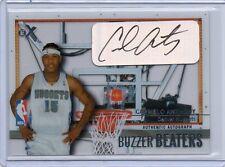 03-04 Carmelo Anthony Fleer E-X #CA-BBA BUZZER BEATERS Auto RC #D 120/299 (A92)