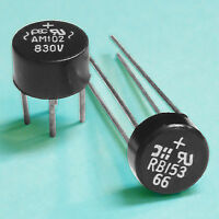 (8) Full-Wave Bridge Rectifier Assortment: 1.0 & 1.5 Amps @ 200 Vprv
