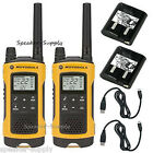 Motorola Talkabout T400 Walkie Talkie Set 35 Mile Two Way Radio iVOX Hands Free