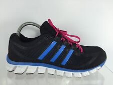 Adidas Womens Black Athletic Shoes 9.5