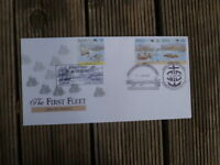 FIRST FLEET TENERIFFE  1987 FIRST DAY COVER  3 DIFFERENT POSTMARK S BICENTENARY
