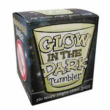 CASE of 12 x Glow in the Dark Plastic Tumbler new No Night Spills Halloween Fun