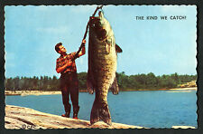 Posted C1967 Comic Card: Espanola, Ontario: Big Fish: The Kind We Catch