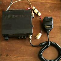 YAESU FT-4600 amateur radio operation confirmed, microphone, antenna, set