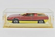 Majorette Citroen Bertone GS Camargue Red and Yellow 1:55 Scale #221 MIB France