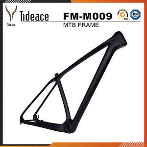2021 29er Tideace Carbon Fiber Mountain Bicycle Frames OEM PF30 MTB Bike Frames