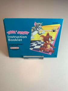 Nintendo NES Manual Tom & Jerry SCN