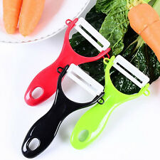New Design Fruit Vegetable Potato Ceramic Peeler Kitchen Tool Helper Intriguing