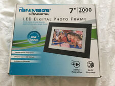 "Panimage Led Digital Photo Frame, 7"", 2000 Images, BRAND NEW IN BOX"