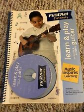 First Act Discovery Learn and Play Acoustic and Electric Guitar w/Play Along CD