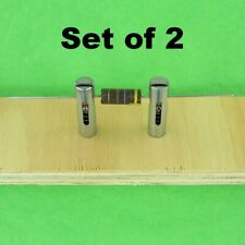 Rare Component Test Clip Quick Insert Tight Grip Spring Action #4 Threaded Stud