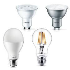 PHILIPS LED Lampe SONDERPOSTEN GU10 E27 verschiedene Typen dimmbar Filament