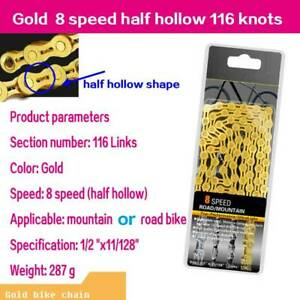 6-8 9 10 11 12 Speed Bike Chain Buckle Single Speed Chains Unit Joint Links New