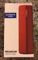 Ultimate Ears UE MEGABOOM Lava Red Wireless Bluetooth Speaker Water/Shockproof