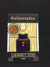 Utah Jazz Pete Maravich lapel pin-Classic Collectable-Hardwood Legend-PISTOL!