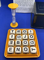 1976 BOGGLE The Word Game You Can't Put Down  By Chad Valley Complete & Boxed
