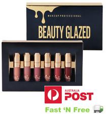BEAUTY GLAZED Liquid Lipstick Lip Gloss Set/ Kit - Brand New