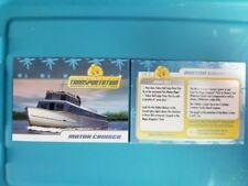 Disney Transportation Trading Card Motor Cruiser #5 of 25