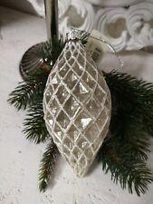 Christbaumkugel Glaskugel  Weihnachtskugel Christbaumschmuck Shabby Vintage