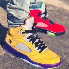 Nike Air Jordan 5 Retro SE V What The Red Yellow Men Kid CZ5725-700 / CZ6415-700