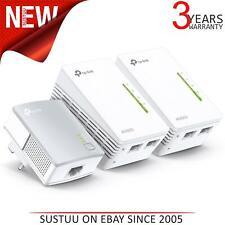 TP-Link TL-WPA4220TKIT 2-Port Powerline Adapter WiFi 3-pack Starter Kit|Extender