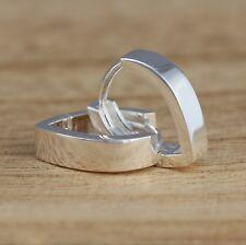 925 Sterling Silver Huggie Hoop Earrings V-Shape Hoops Earrings Jewellery