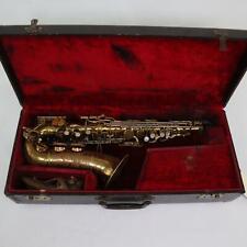 Buescher 400 Top Hat and Cane Alto Saxophone SN 304888 ORIGINAL LACQUER