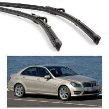 "24"" & 24"" Wiper Blade Bracketless Windscreen for Mercedes-Benz C-Class 2012-2014"