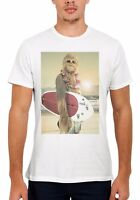 Star Wars Chewbacca Surfing Funny Men Women Vest Tank Top Unisex T Shirt 67