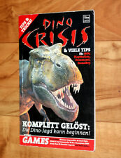 2000 Dino Crisis Rare Tipps & Tricks Mini Heft Guide Booklet PS1 Dreamcast N64