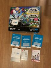 New Super Mario Bros. U Wii U BOX ONLY Complete With Manual