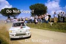 Ari Vatanen Peugeot 205 Turbo 16 Winner San Remo Rally 1984 Photograph 1
