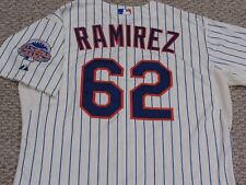 RAMIREZ sz 48 #62 2013 New York Mets game jersey issued home cream MLB HOLOGRAM