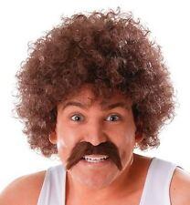 Adult Mens 118 Wig Beard Fancy Dress Accessory Set 80's Scouser Comedy