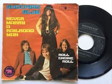 """Shocking Blue: Never Marry A railroad Man / Roll Engine Roll: 7"""" single"""