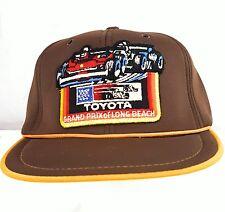 True Vintage Long Beach Grand Prix Strapback Hat Cap Indy Formula Racing Rare