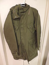 Canadian Forces Army Winter Parka Jacket Size 4 Regular Small