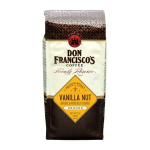 Don Francisco's Medium Roast Vanilla Nut Ground Coffee 12 oz Bag