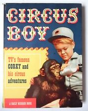 CIRCUS BOY ANNUAL 1958 ADAPTED GORDON GRIMSLEY ILLUS JOHN POLLACK DAILY MIRROR