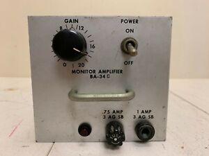 RCA BA-34C  Transistor monitor  amplifier