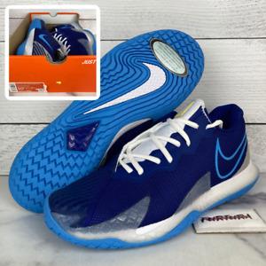 Nike Air Zoom Vapor Cage 4 HC Men's Size 10.5 Tennis Shoes CD0424-400 No Lid