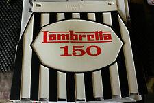 Lambretta 125 Striped Genuine Cuppini Mudflap Rubber Type